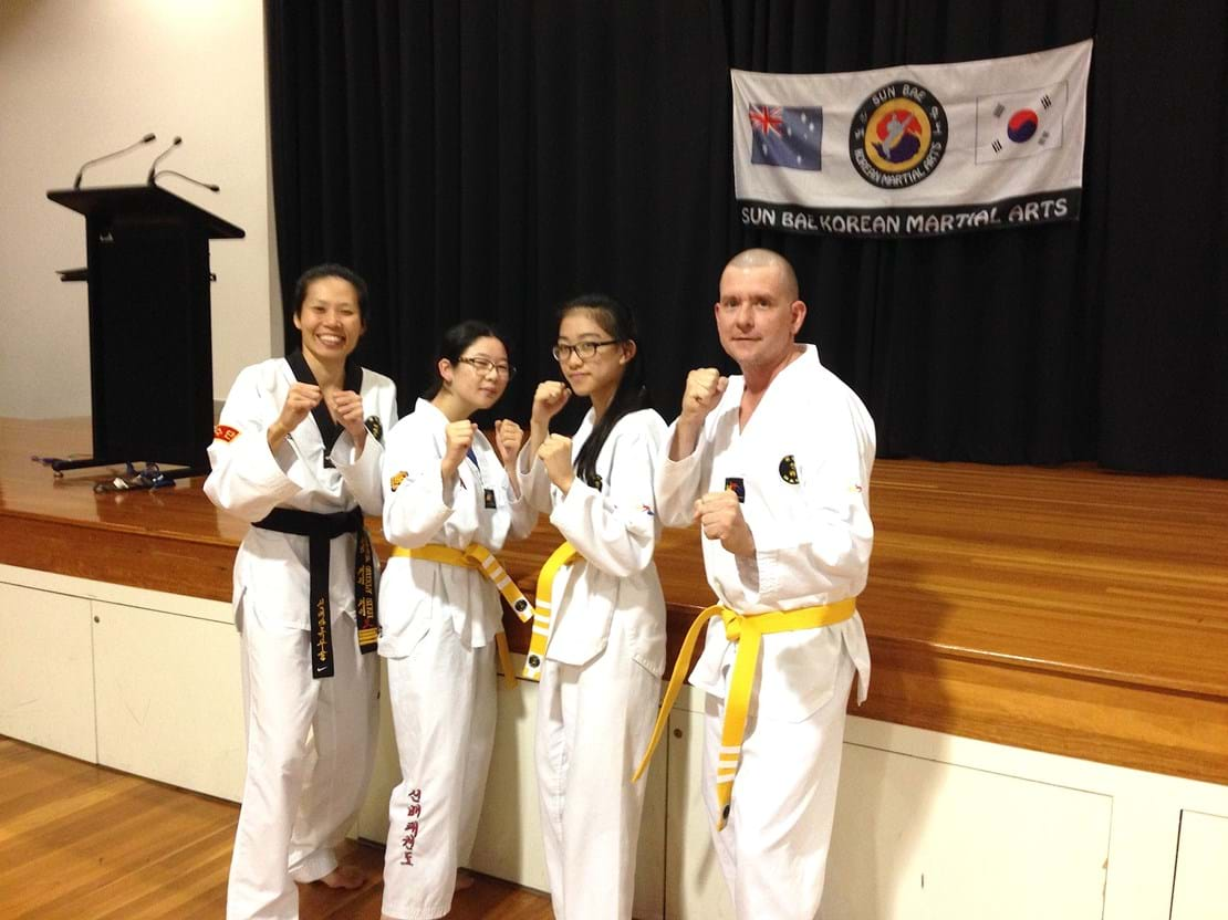 Kenmore Yellow belts