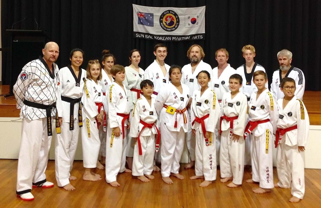 Kenmore Red and Black belts