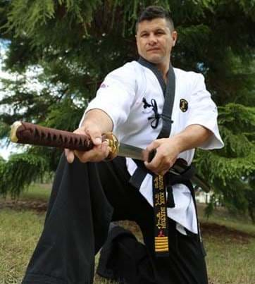Coach at Sun Bae Korean Martial Arts Master Mark Buxton Taekwondo Hapkido Kumdo